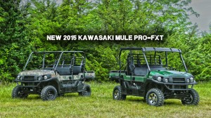 The new Mule Pro FXT in green and camo