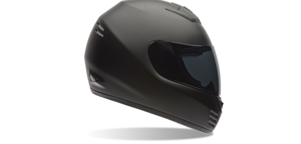 Bell Motorcycle Helmet - Arrow Matte Black