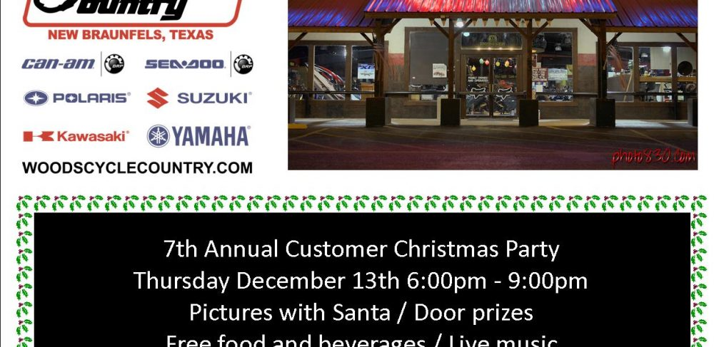 7th Annual Christmas Party - Flyer
