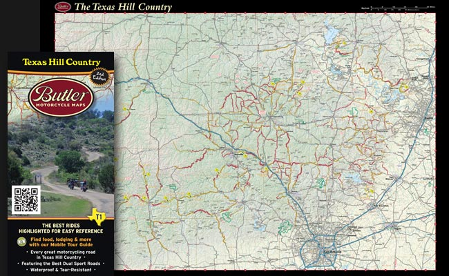 Butler Texas Hill Country Ride Maps Woods Cycle Country Blog