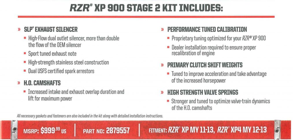 RZR XP Power Up Kit