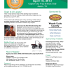 Clays for Kids Flyer