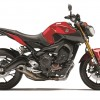 2014 Yamaha FZ-09 in Rapid Red