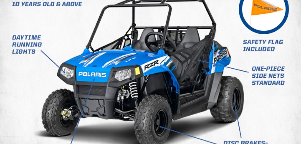 2014 RZR 170 in Voodoo Blue
