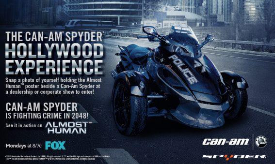 The Can-Am Spyder Hollywood Experience