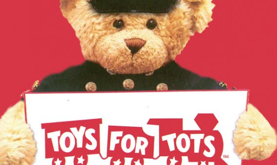 Toys For Tots Teddy Bear