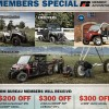 Members of the Texas Farm Bureau can get a discount on a new Polaris