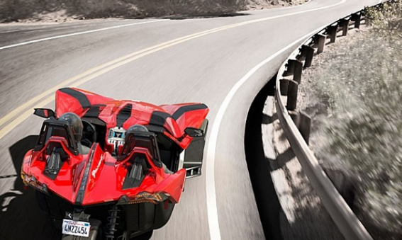 2015 Polaris Slingshot SL in Pearl Red