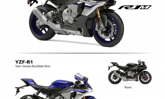 2015 Yamaha YZF-R1 and YZF-R1M Flyer
