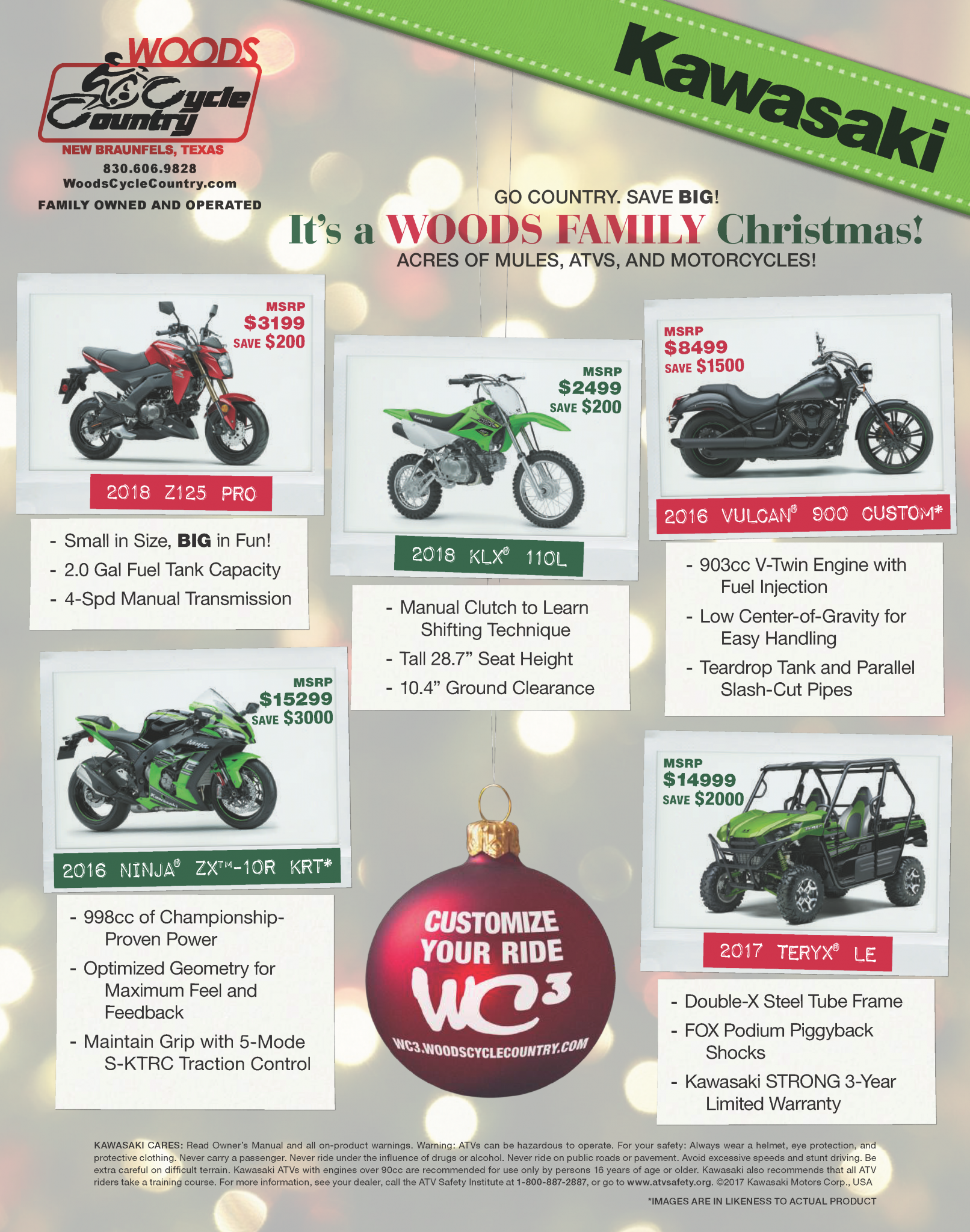 Wcc 12th Customer Christmas Party Woods Cycle Country Blog New braunfels river recreation update. woods cycle country