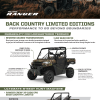 Polaris Ranger 1000 Back Country Edition